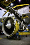 стойка двигателя двигателя Стоковые Изображения