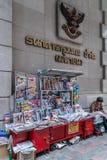 Стойка журнала на централи дороги Des Voeux, острове Гонконга, Китае стоковые изображения