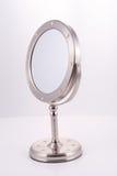 стойка зеркала крома круглая Стоковые Изображения RF