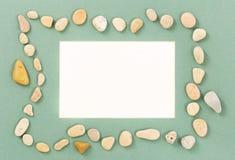 Стойка искусства для фото от камня моря Стоковая Фотография