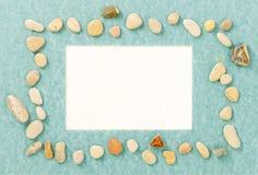 Стойка искусства для фото от камня моря Стоковое фото RF