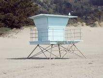 Стойка личной охраны пляжа Стоковые Изображения