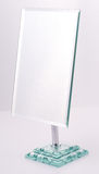 стойка квадрата зеркала крома Стоковые Фотографии RF