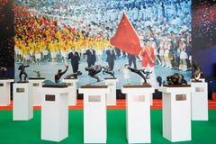 стойка китайского комитета олимпийская иллюстрация вектора