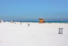 стойка личной охраны пляжа южная Стоковые Изображения RF