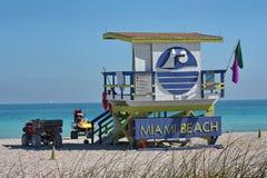 стойка личной охраны пляжа южная Стоковое Изображение