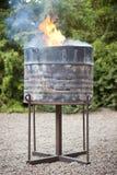 стойка масла камина барабанчика традиционная Стоковые Изображения RF