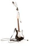 стойка микрофона гитары Стоковое Изображение RF