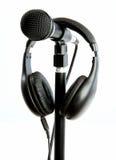 стойка микрофона стоковые фото