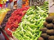 стойка продукции la boqueria Стоковое Изображение RF