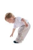 стойка ребенка стоковая фотография rf