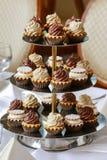 Стойка торта с пирожными Стоковая Фотография RF