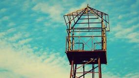 Стойка точки зрения голубого неба Стоковая Фотография RF