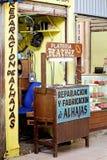 Стойка ювелирных изделий в Мериде, мексиканськом рынке Стоковые Изображения