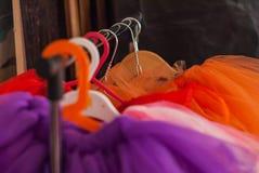 Стойка для балетной пачки юбок детей Стоковые Фотографии RF