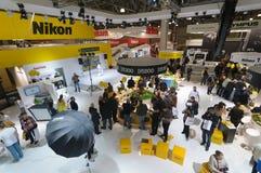 Стойка Nikon Стоковые Изображения RF