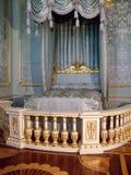 Стойки кровати ` s короля стоковое фото rf