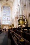 стойлы клироса ванны аббатства Стоковая Фотография RF