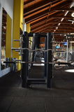 Стойте с весами металла в индюке Антальи спортзала Стоковое Изображение RF
