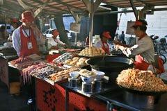 Стойл еды в Пекине Стоковое фото RF