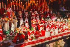 Стойл рождественской ярмарки Стоковое Изображение RF