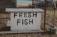 Стойл свежих рыб Стоковое Фото