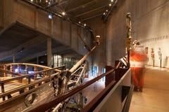 СТОКГОЛЬМ - 6-ОЕ ЯНВАРЯ: Военный корабль Vasa XVII века спасенный от Стоковые Фотографии RF