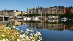 Стокгольм, Швеция, Европа сток-видео