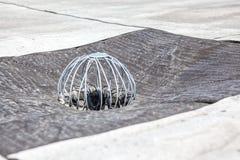 Сток плоской крыши Стоковое Фото