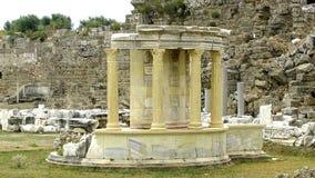Столбцы древнего города стоковые изображения rf