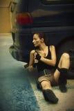 Столб-апоралипсический мир Стоковые Фото