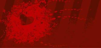 столб изображения карточки Стоковая Фотография