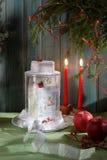 столб изображения рождества карточки Стоковая Фотография
