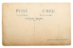 столб карточки старый Стоковое Изображение