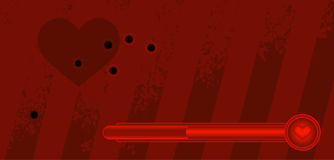 столб карточки Стоковая Фотография RF