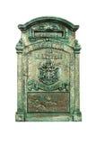 столб коробки зеленый Стоковые Изображения
