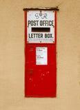 столб коробки старый стоковые фото