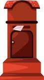 столб коробки Стоковые Фотографии RF