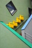 столб коробок Стоковая Фотография