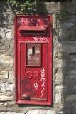 столб надписи на стенах Стоковые Фото
