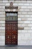 столб офиса генералитета Ирландии dublin Стоковые Изображения RF