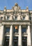 столб офиса barcelona Стоковое фото RF