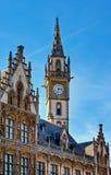 столб площади Бельгии зодчества готский нео Стоковое Фото