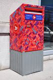 столб почты Канады коробки Стоковые Фото