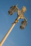 столб светильника brighton Стоковые Фотографии RF