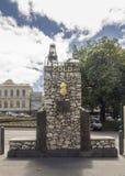 Столетие памятника открытия золота стоковое фото rf