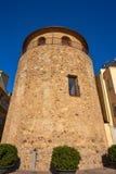 Столетие Таррагона Cambrils Torre del Порта XVII стоковая фотография