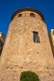 Столетие Таррагона Cambrils Torre del Порта XVII стоковые изображения rf