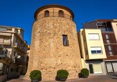 Столетие Таррагона Cambrils Torre del Порта XVII стоковое фото rf