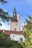 Столетие XVI особняка XII в Pruhonice около Праги стоковое изображение rf